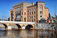 Sarajevo-Bosnia-Herzegovina-Vijecnia-Bridge