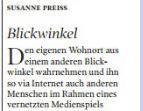 Kleine Zeitung – 31 juli 2013 – Blickwinkel