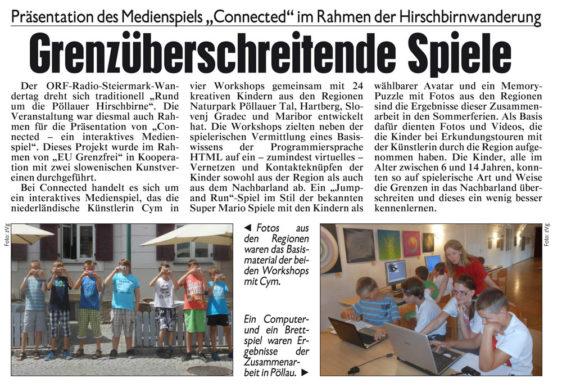 Krone Zeitung – 31 oktober 2013