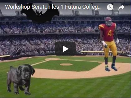 Scratch op het Futura College – Les 1