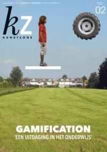 Op de voorpagina van Kunstzone