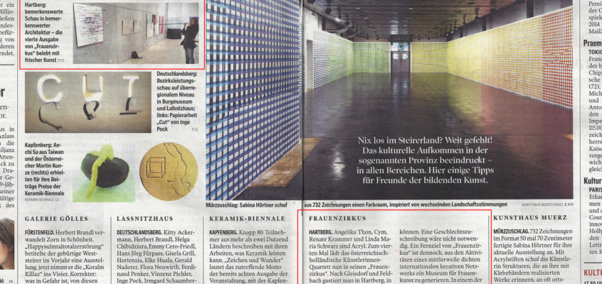 Kleine Zeitung – 18 oktober 2013