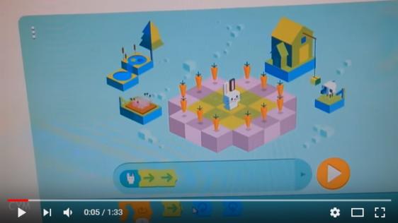 Google Doodle – kinderen leren programmeren