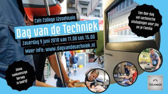 Zaterdag 9 juni 2018 Dag van de Techniek IJsselstein