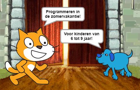 Programmeren in de zomervakantie voor kinderen van 6 tot 9 jaar