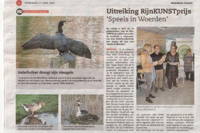Eervolle vermelding RijnKUNSTprijs